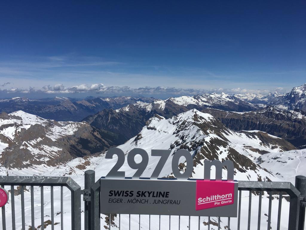 Schilthorn 1 - Best places to visit in Switzerland