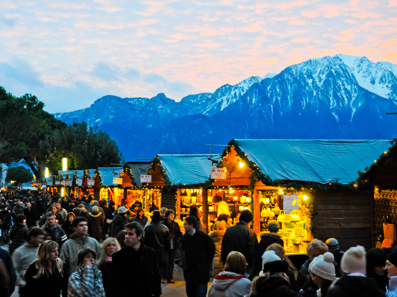 Best Christmas Markets in Switzerland - Montreux