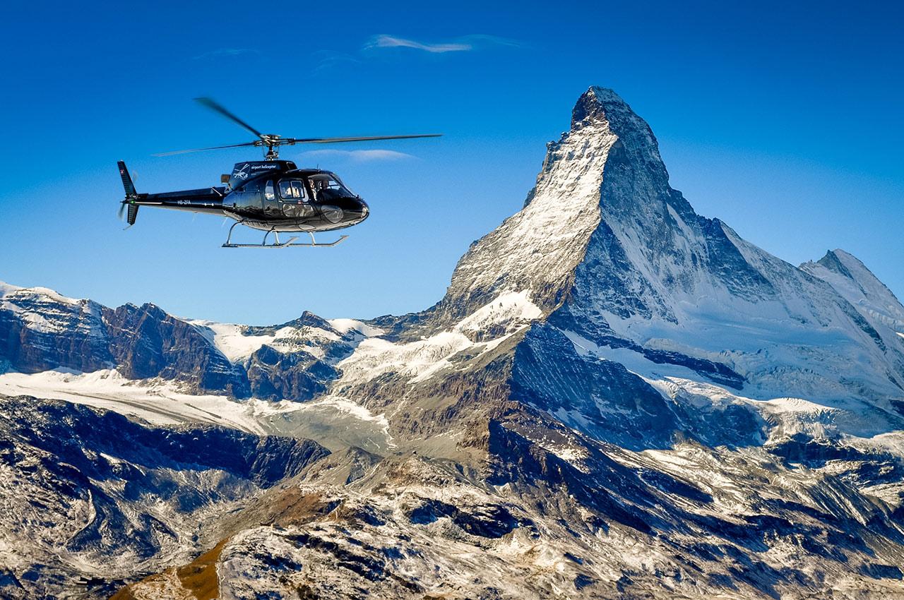 Matterhorn helicopter flight - Best places to visit in Switzerland