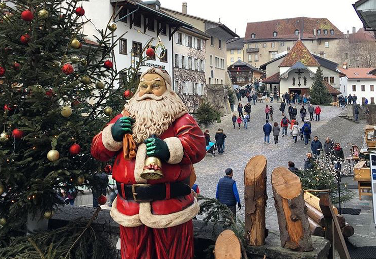 Best Christmas Markets in Switzerland - Gruyere market