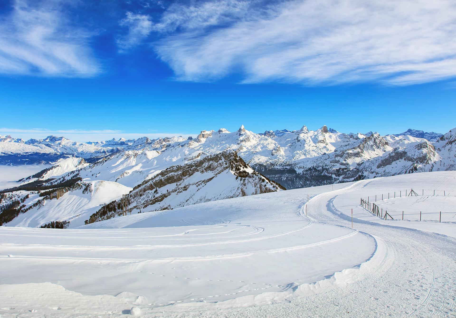 Gstaad ski resort
