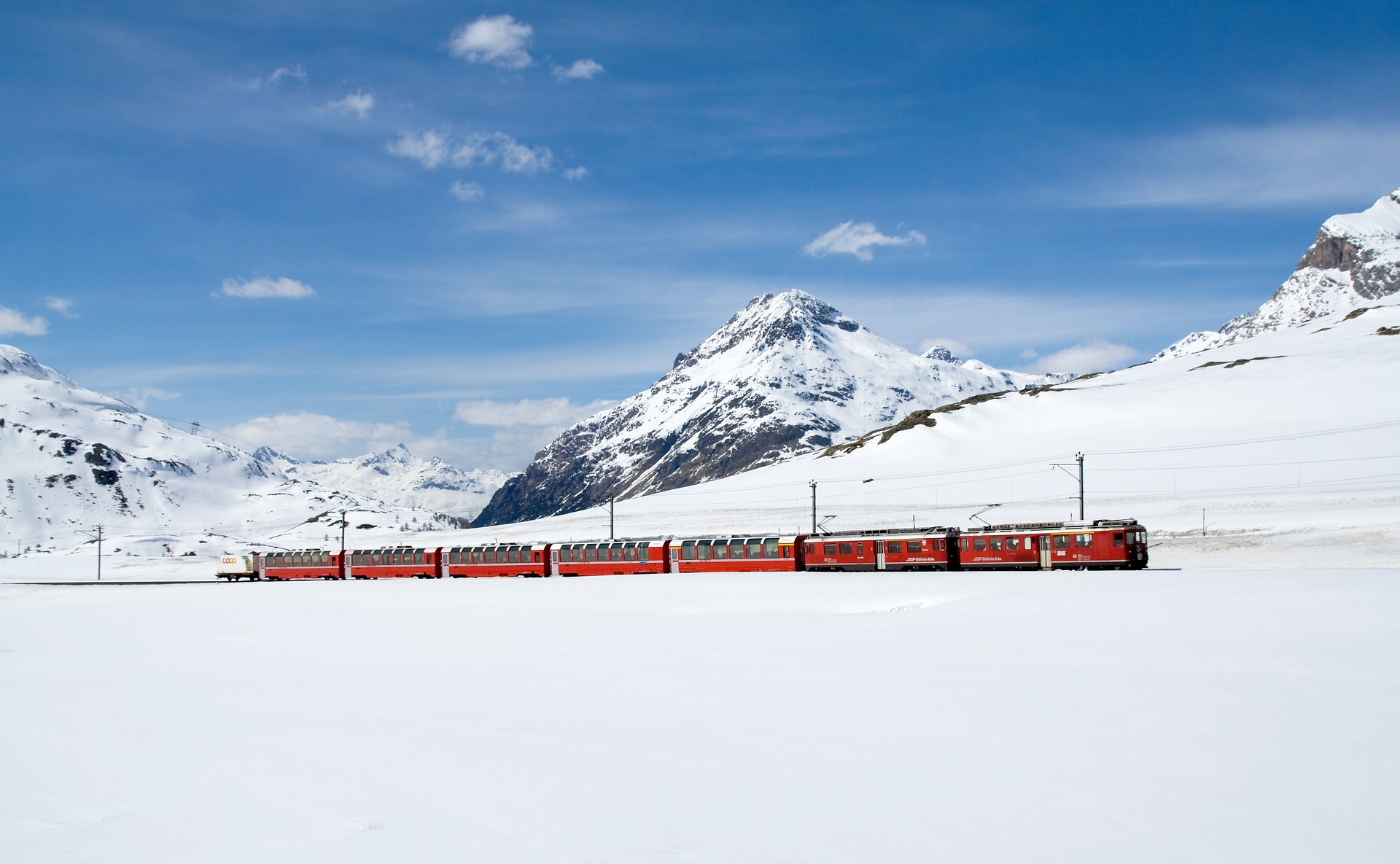 Bernina- top 5 panoramic trains in Switzerland