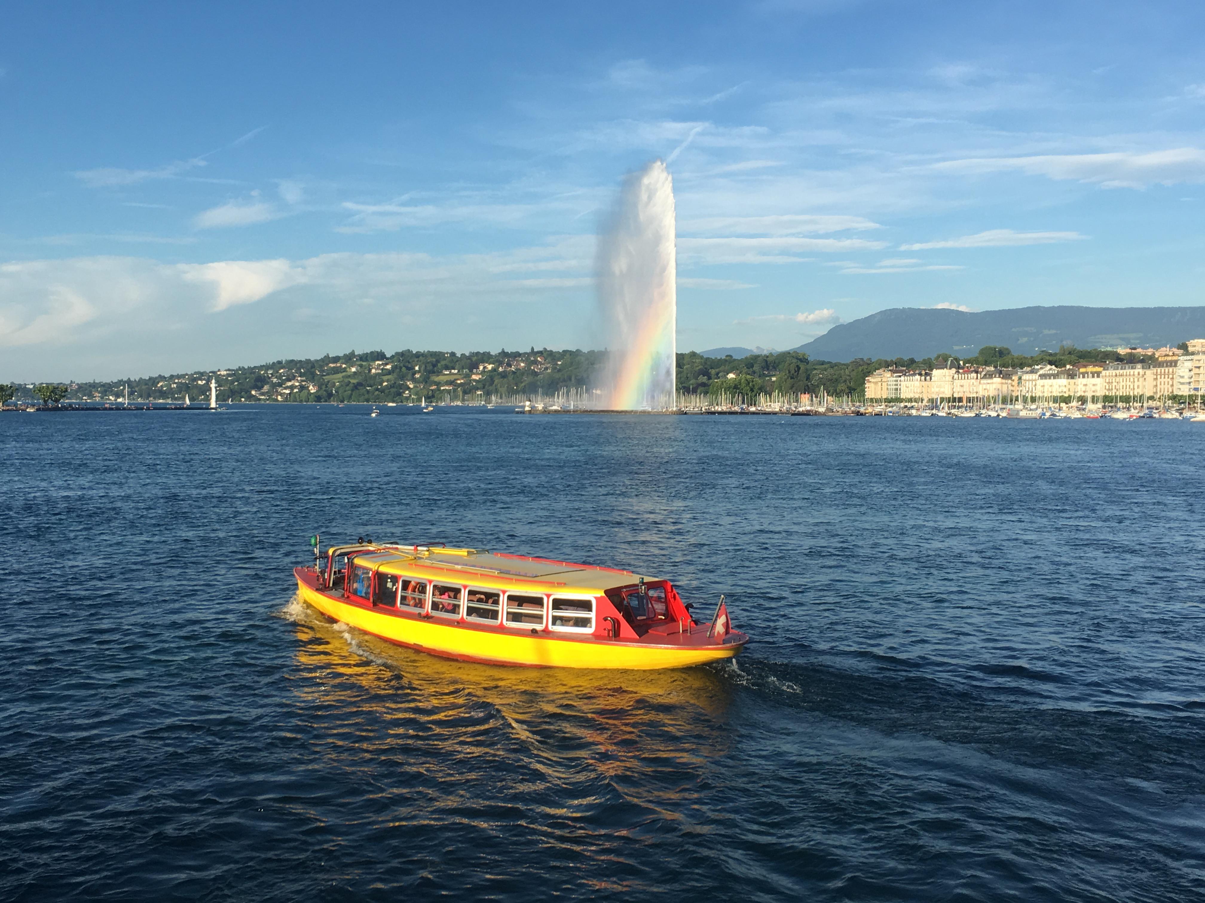 Jet d'eau - 10 best things to do in Geneva