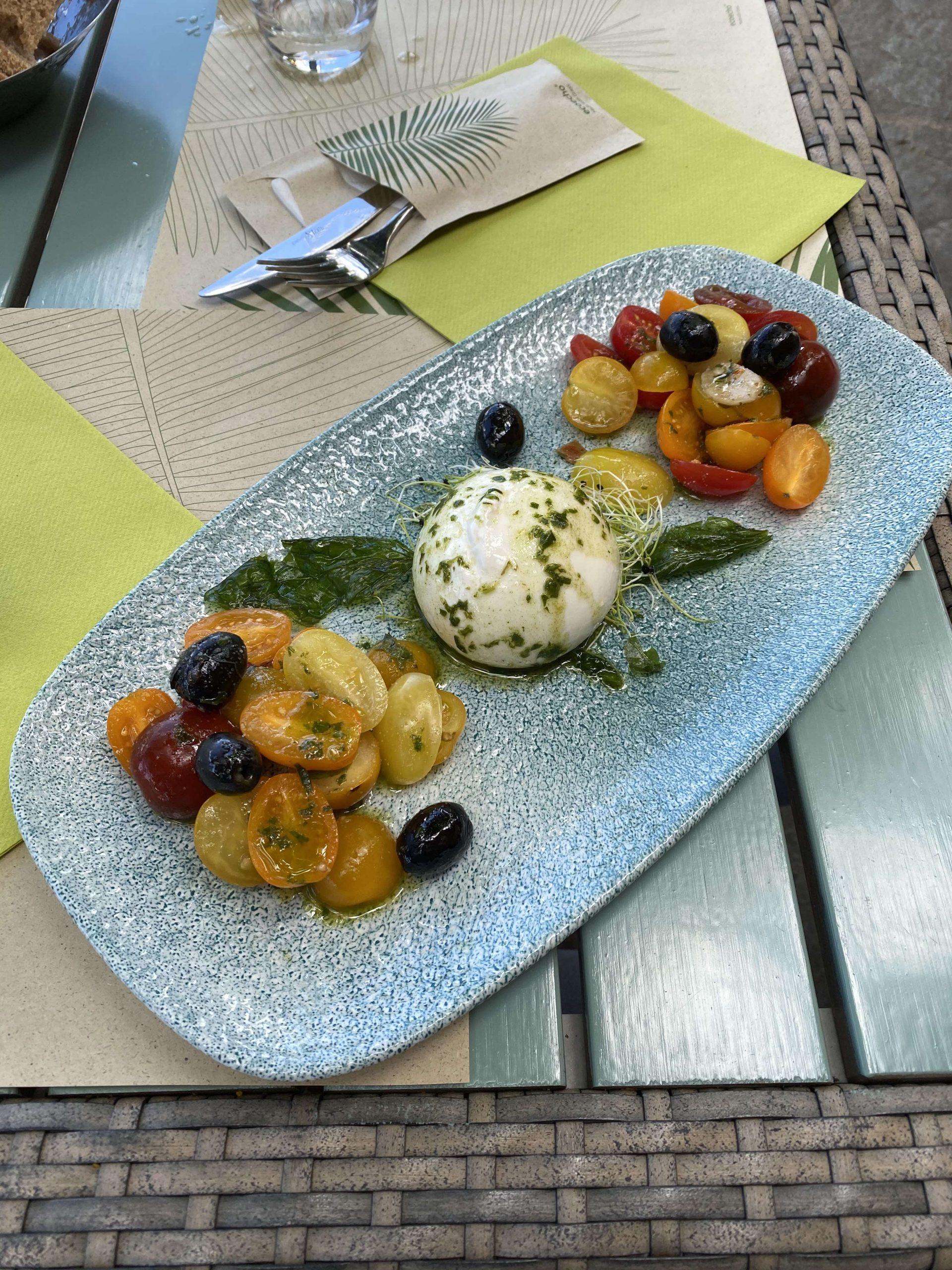 food at Brenscino - hotels in Brissago