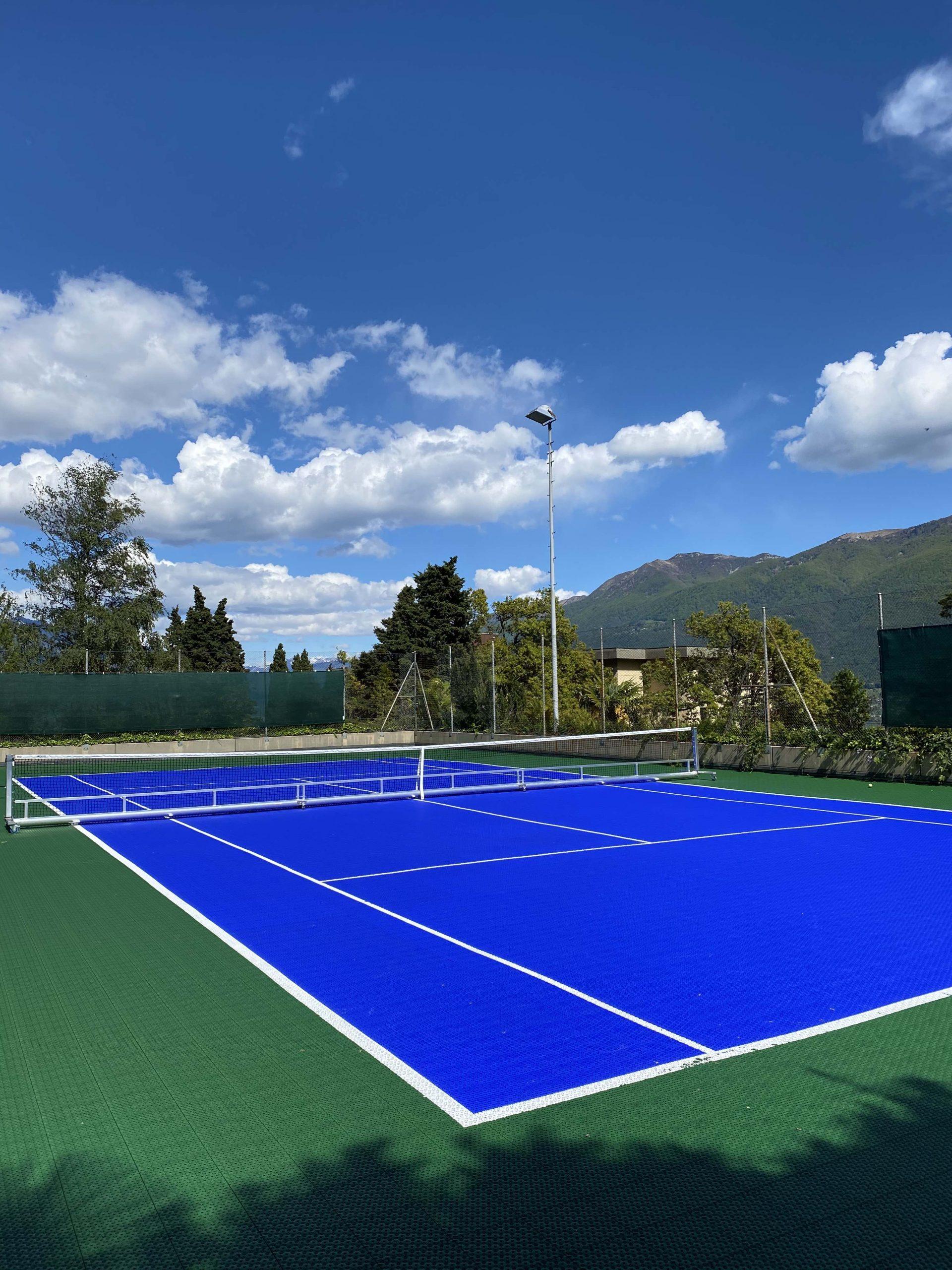 Tennis court - Hotels in Brissago