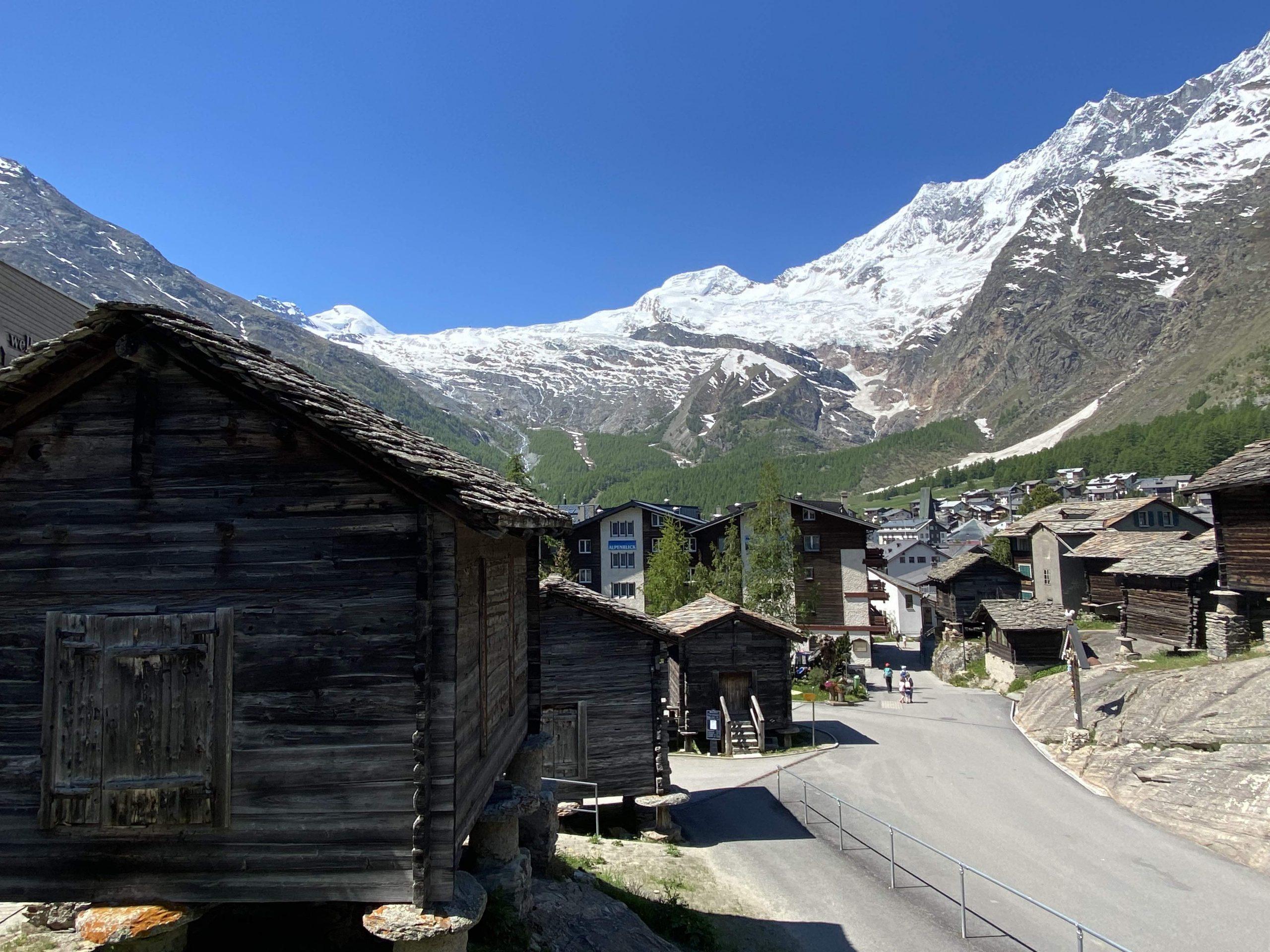 Saas-Fee village